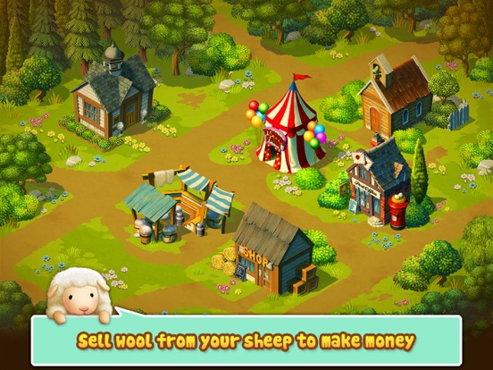 Tiny Sheep : Pet Sim on a Farm Скриншоты9