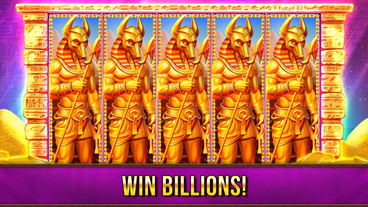 Slots Pharaohs ™ Vegas Casino screenshot-0