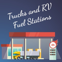 Trucks and RV Fuel Stations