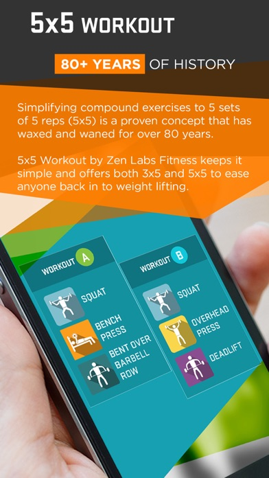 5x5 Workout Pro - Zen Labs by Zen Labs (iOS, United States