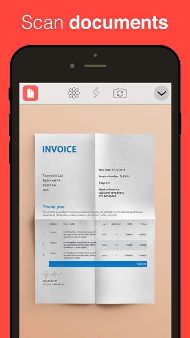 QR Reader for iPhone (Premium) Screenshot on iOS