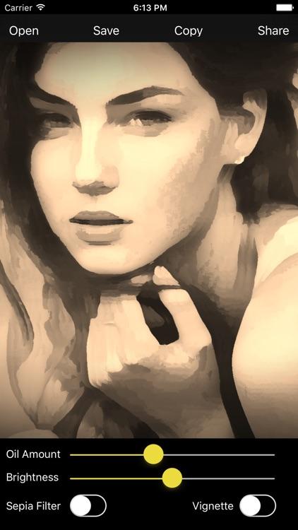 Oil Paint - Photo to Art Maker screenshot-5