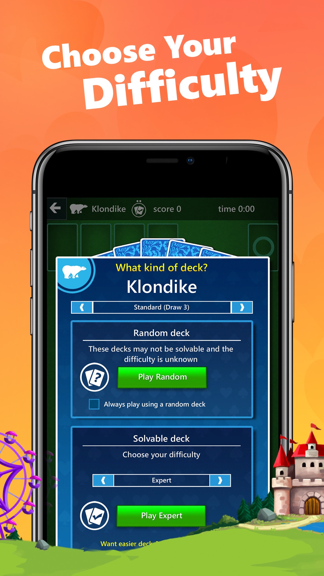 Screenshot do app Microsoft Solitaire Collection