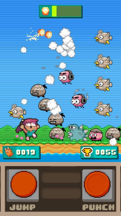 Cooties Smasher - 8-bit arcade screenshot-3