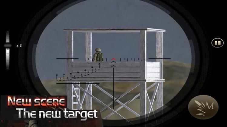 Army Sniper Pro: Gun War Actio screenshot-3