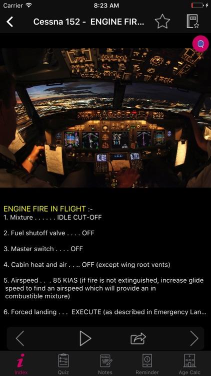 Cessna 152 Checklist Pilot