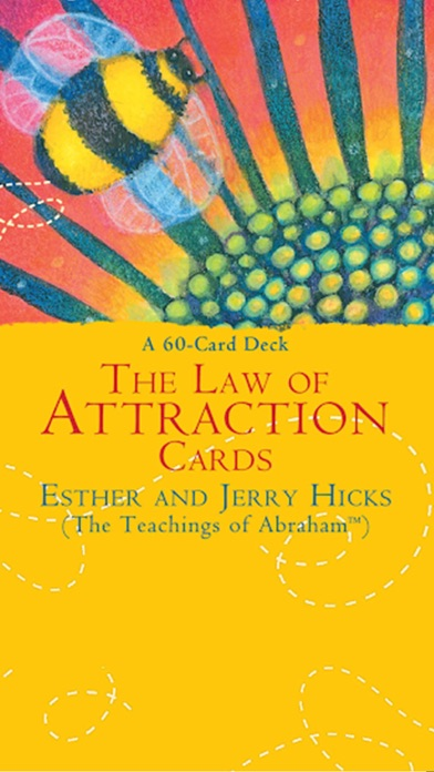 The Law of Attraction Cards screenshot 1