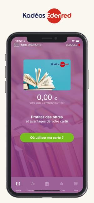Myedenred Dans L App Store