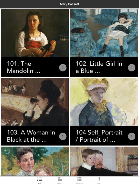 Mary Cassatt exhibition screenshot 6