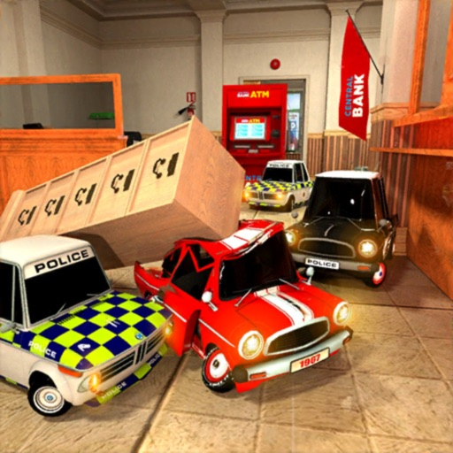 Chasing Cars in Bank: Wanted iOS App