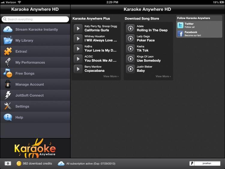 Karaoke Anywhere HD screenshot-3