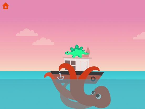 恐竜パトロールボート - 子供向けゲームのおすすめ画像2