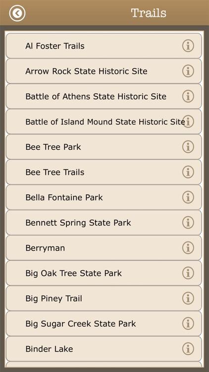 Great -Missouri Camps & Trails screenshot-3