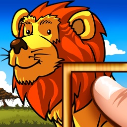 Wild Animals Puzzle – For Kids