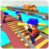 River Road Train Track Builder
