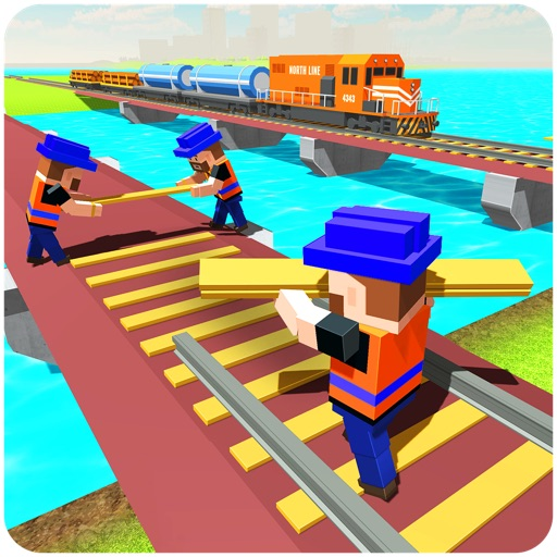 River Road Train Track Builder