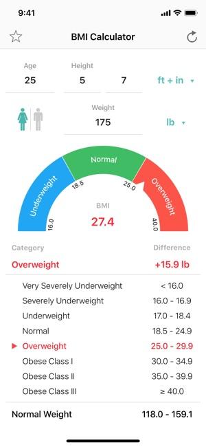 Bmi Calculator Pro On The App Store