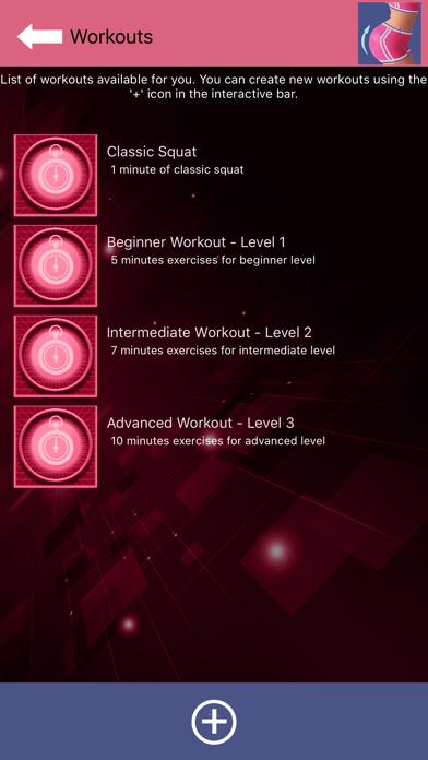 Buttocks Workout - Squat Bot screenshot 3