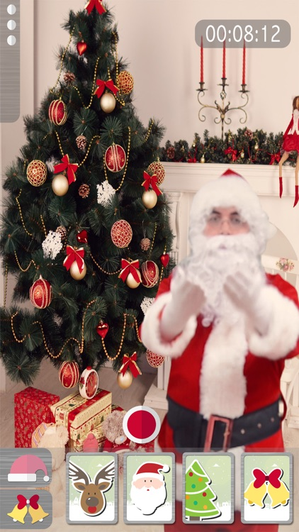 Your video with Santa & Xmas screenshot-3
