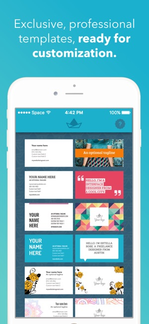 Card App The ‎print Store On Maker Business
