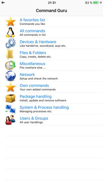 Command Guru for Linuxのおすすめ画像1