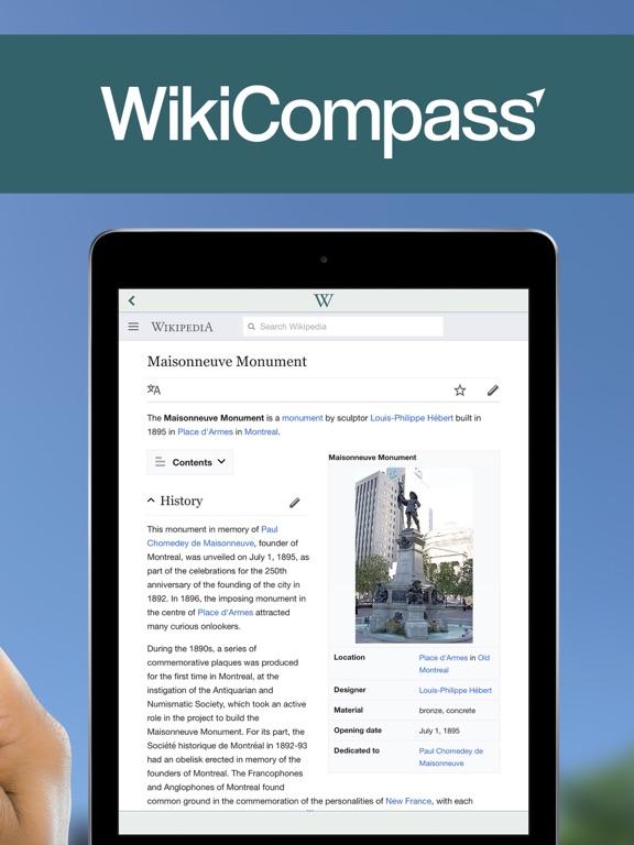 WikiCompass-ipad-2