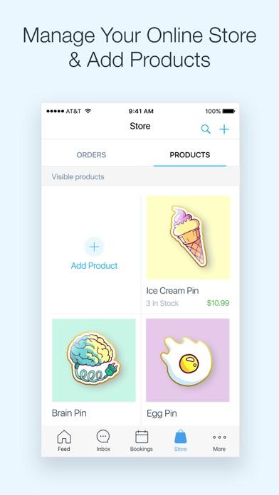 Screenshot 3 for Wix's iPhone app'