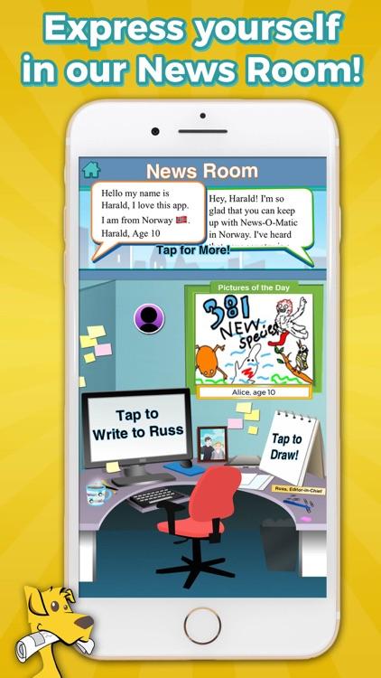 News-O-Matic: Reading for Kids screenshot-4