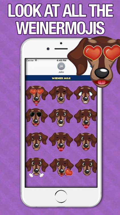 WeinerMoji - Dachshund Emoji & Stickers! screenshot-3