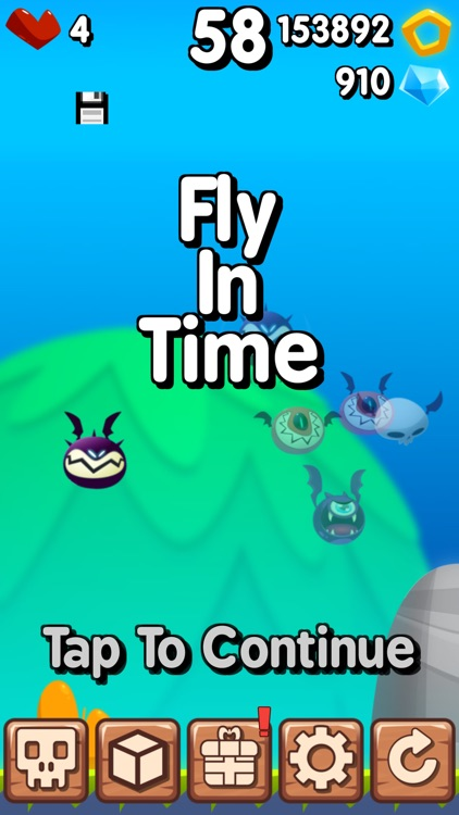 Fly in Time