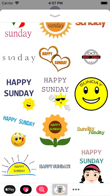 sunday stickers screenshot-7
