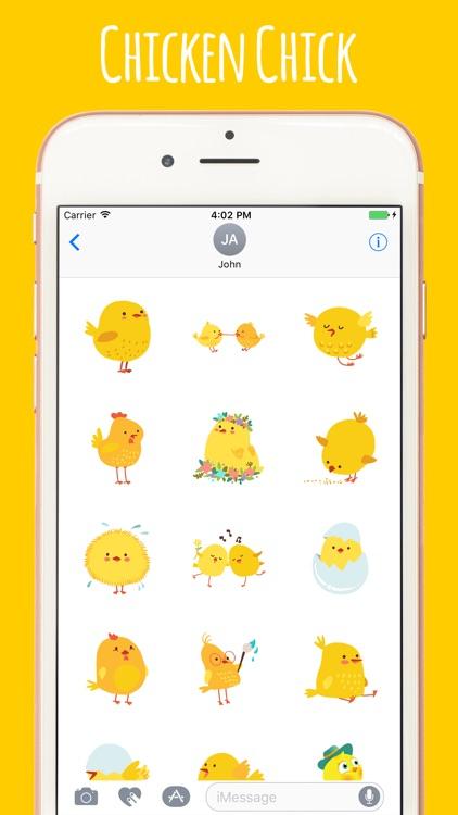 Street Chicken Chick Stickers Pack screenshot-3