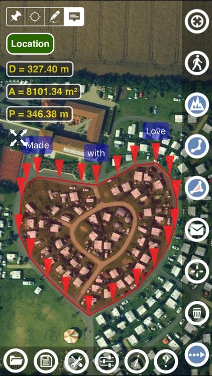 Planimeter - GPS area measure