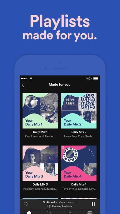 Spotify Screenshot 6