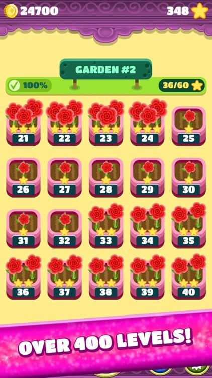 Mahjong Spring Flower Garden screenshot-5