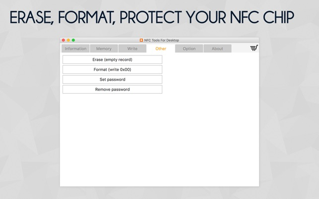 NFC Tools for Desktop on the Mac App Store