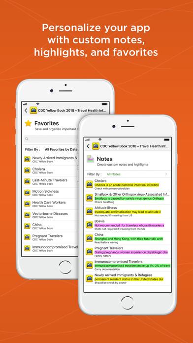 CDC Yellow Book screenshot 5