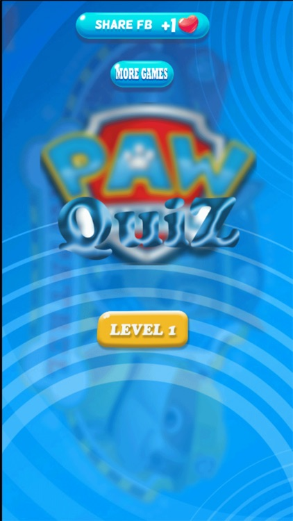 Quiz for PAW Patrol