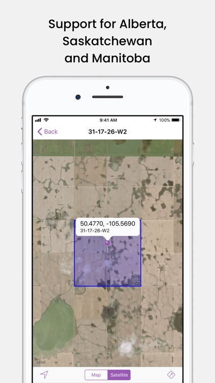 Prairie Locator Mobile
