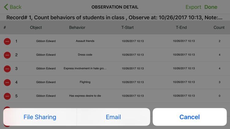 Behavior Observation Plus screenshot-4