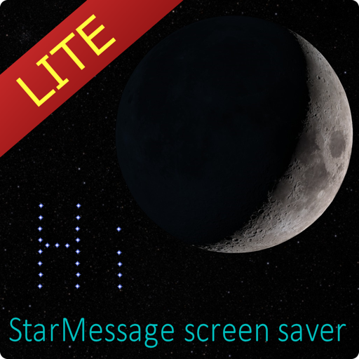 StarMessage screensaver lite
