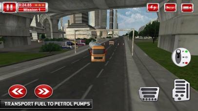 Tanks Oil Driving Mission 3D screenshot 1