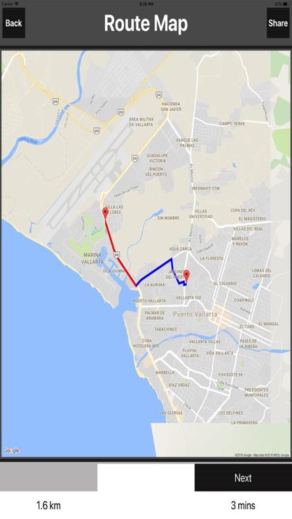 Puerto Vallarta Travel Map screenshot-3