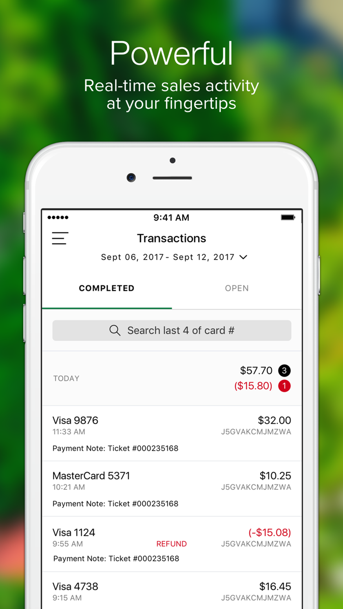 Clover Go–Mobile Point of Sale Screenshot