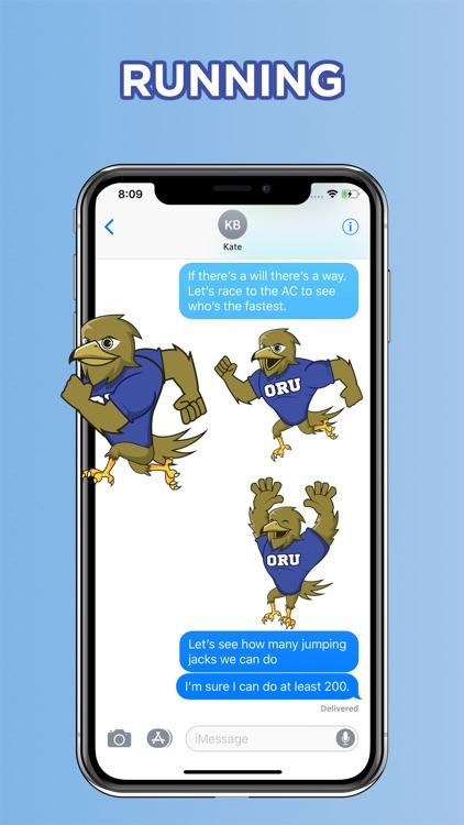 ORU Eagle Stickers screenshot-3
