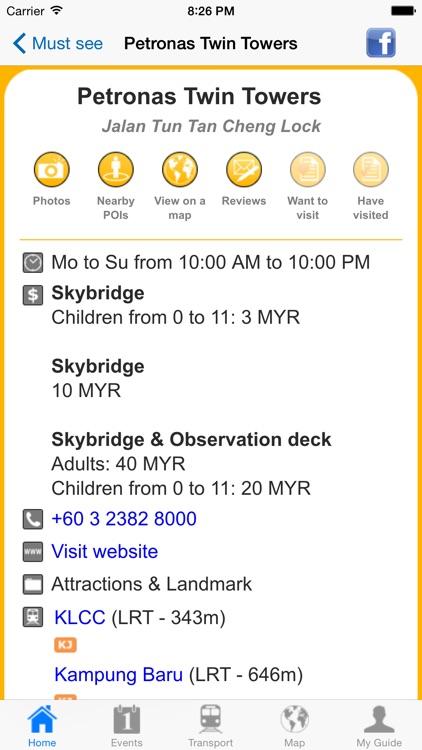 Kuala Lumpur Travel Guide Offline screenshot-4