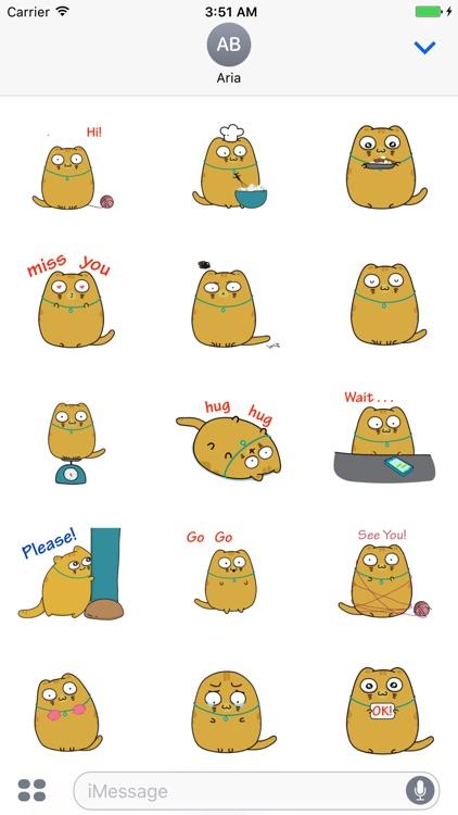 Sweet Cat Animated Sticker