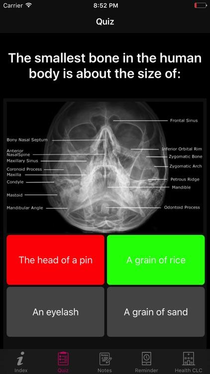 Human Anatomy Blood Facts 2000 screenshot-3