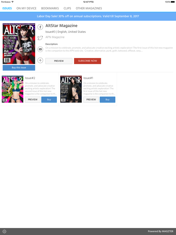 AltStar Magazine screenshot 5