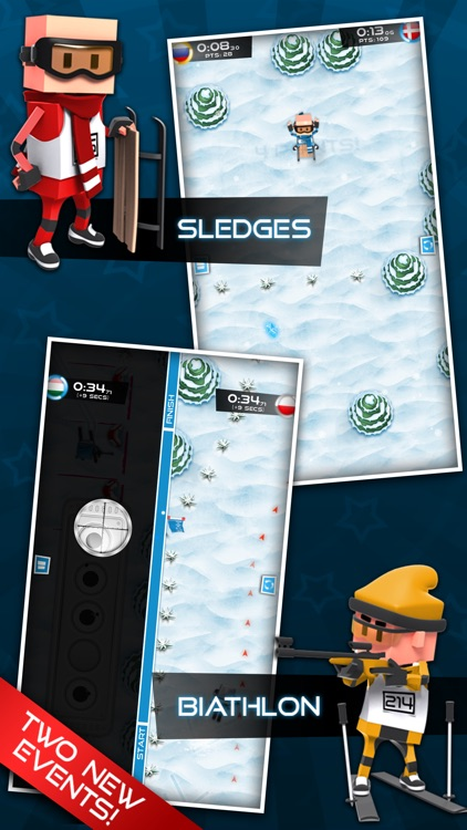 Flick Champions Winter Sports screenshot-0